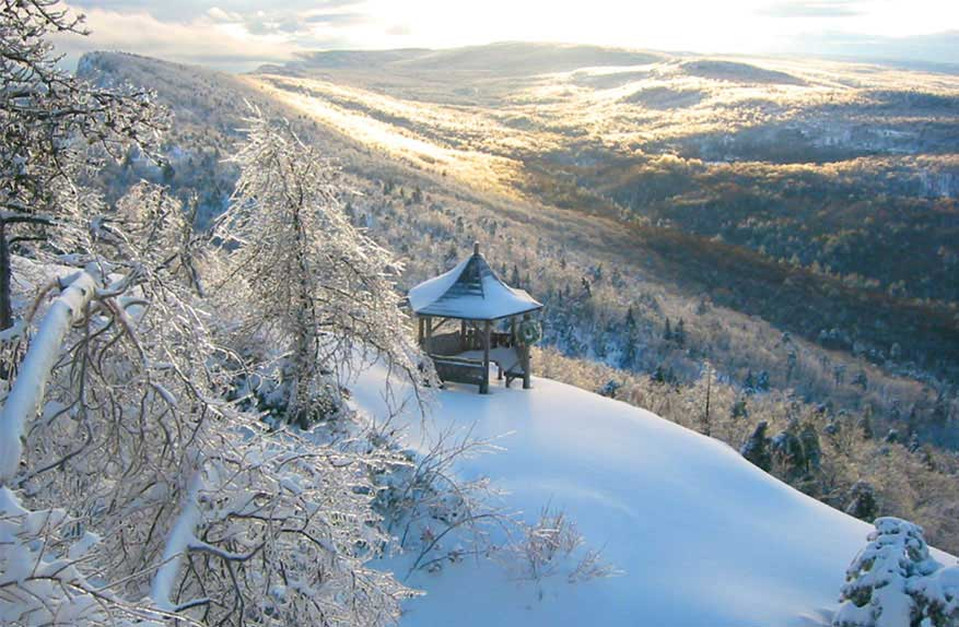 Winter wonderland getaways visitvortex magazine articles for Winter getaways in the us