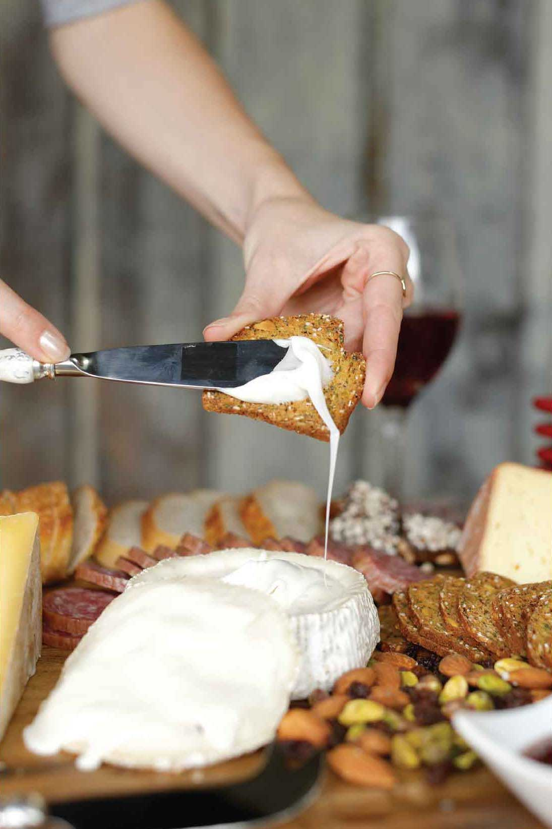 Theresau0027s signature touch? Mixing her sources. The cheese aficionado loves to assemble plates with cheese from cowu0027s milk goatu0027s milk and sheepu0027s milk. & Winter 2016-17 | creating the perfect holiday CHEESE PLATTER
