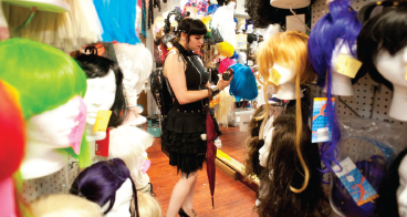 Laura Spaey: Columbia Costumes & Beauty, Kingston