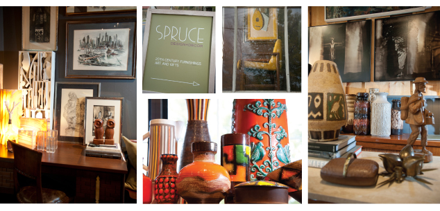 John Krenek and Jamie Niblock of Spruce Design and Decor