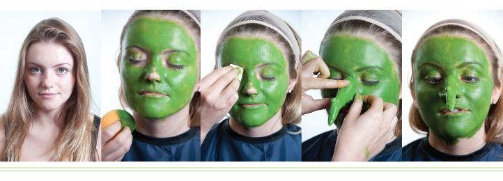 Stunning Cream Halloween Makeup Gallery - harrop.us - harrop.us