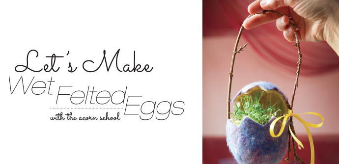 felted eggs images