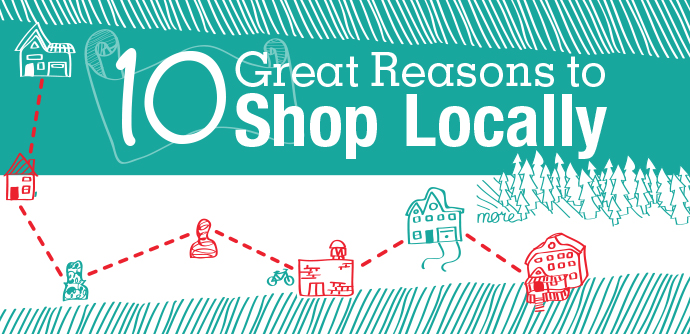 shop locally images