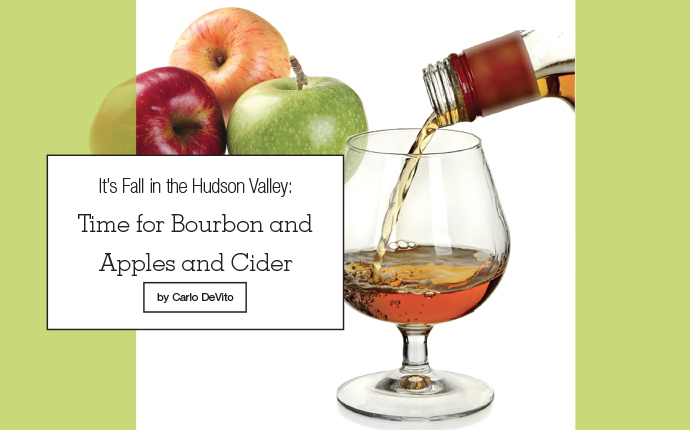 apples and bourbon