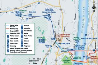 Hike the Hudson Valley Rail Trail