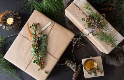 HANDCRAFTED GIFT WRAPPING
