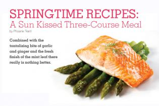 Springtime Recipes