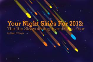 Your Night Skies For 2012