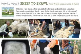 How It's Made: Sheep to Shawl