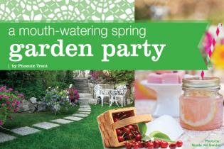 Spring Garden Party Recipes