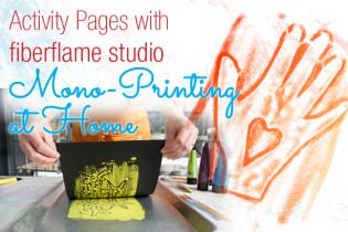 Activity Pages with fiberflame studio