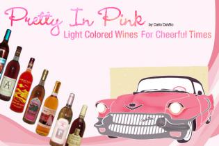 Light Colored Wines For Cheerful Times