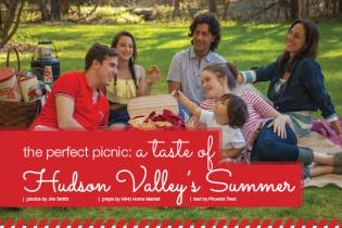 a taste of Hudson Valley's Summer