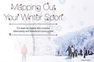 Mapping Out Your Winter Sport