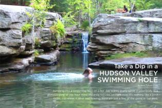 A GUIDE TO HUDSON VALLEY SWIMMING HOLES