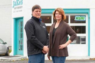 MEET THE OWNERS: jake's auto body