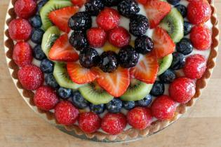 FRIDA'S FRUIT TART RECIPE