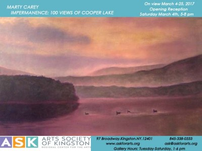 Marty Carey - Impermanence: 100 Views of Cooper Lake