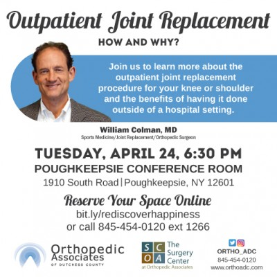 Hospital-Free Outpatient Joint Replacement: How and Why...