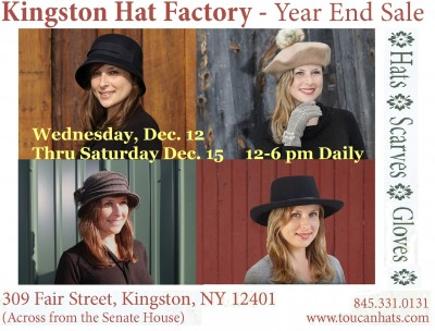 KINGSTON HAT FACTORY - Year End Sale