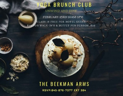 Yoga & Brunch at The Beekman Arms
