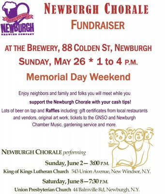 The Newburgh Chorale Fundraiser at the Newburgh Brewing...
