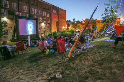FREE Summer Movies on Safe Harbors Green