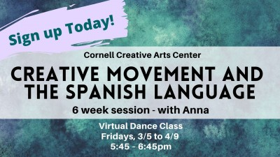 6 week series- Creative Movement and the Spanish Langua...